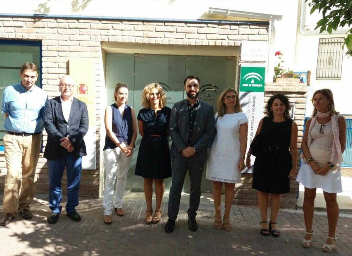 Nerja abre su nueva oficina del sae para demandantes for Oficina de empleo fuengirola
