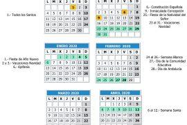Calendario Escolar 2020 Andalucia.El Curso Escolar 2019 2020 Comenzara El 10 De Septiembre Axarquiaplus