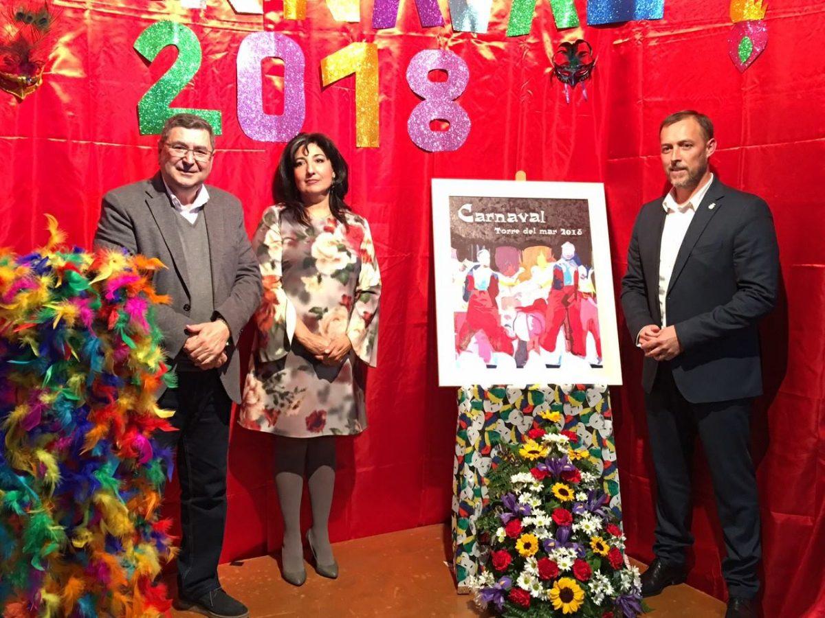 Billedresultat for cartel carnaval torre del mar 2018