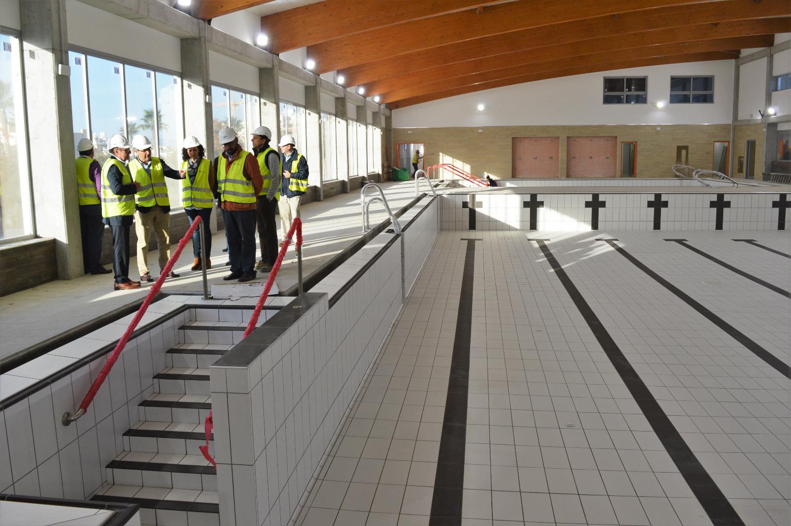 Las obras de la piscina cubierta municipal de rinc n de la victoria se encuentran al 95 por - Piscinas cubiertas malaga ...