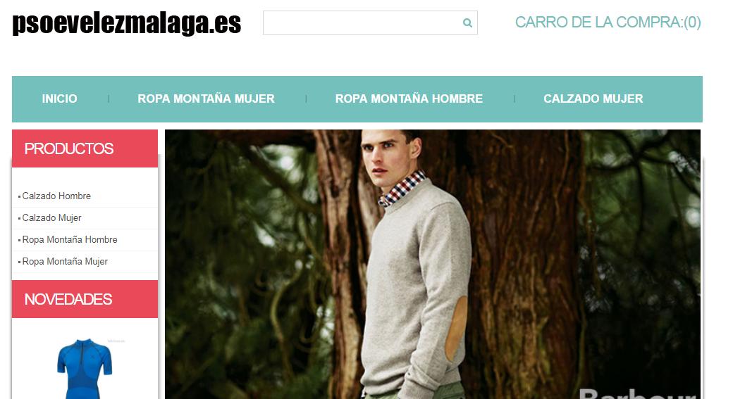 32ed8a77b Hackean la página web del PSOE de Vélez-Málaga y la convierten en ...